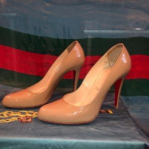 Christian Louboutin Patent Leather Heels 39 1/2